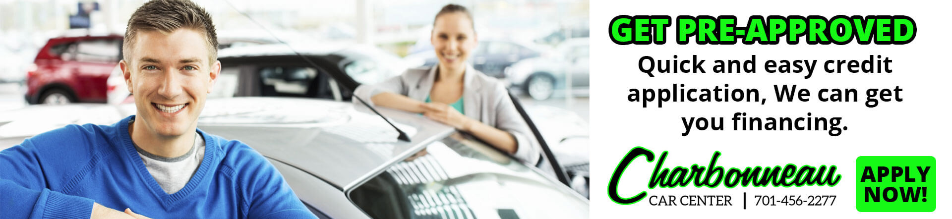Apply for Credit at Charbonneau Car Center